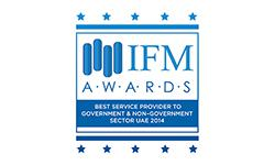 IFM Awards - Best Financial Service Provider to Government & Non-Government Sector 2014